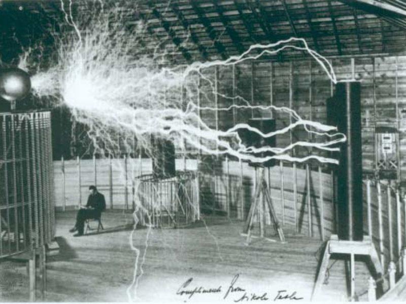 Genius Dreaming Mind of Scientist Tesla